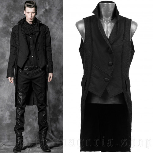 men's The Dynasty Of Darkness Vest by PUNK RAVE brand, code: Y-505