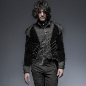 men's The Vampire Armand Tailcoat by PUNK RAVE brand, code: Y-649