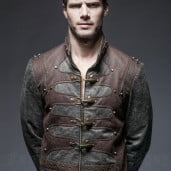 men's Aviator Jacket by PUNK RAVE brand, code: Y-646