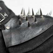 men's Bestia Coat by PUNK RAVE brand, code: Y-679/Male