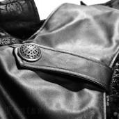 men's Asmodey Coat by PUNK RAVE brand, code: Y-692