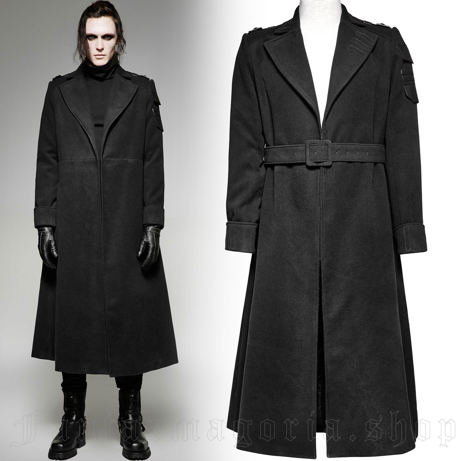men's Commandant Coat by PUNK RAVE brand, code: Y-697