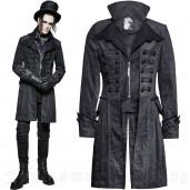 men's Edward Frock Coat by PUNK RAVE brand, code: Y-705