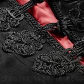 men's Lestat Cloak by PUNK RAVE brand, code: Y-709/BL