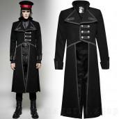 men's The Undertaker Coat by PUNK RAVE brand, code: Y-713