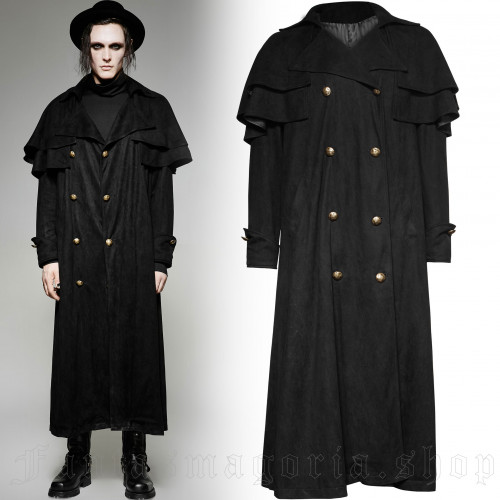 men's Nephilim Coat by PUNK RAVE brand, code: Y-716