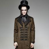 men's Edward Coat by PUNK RAVE brand, code: Y-717