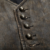 men's Edward Vest by PUNK RAVE brand, code: Y-718/BR