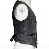 men's Edward Vest by PUNK RAVE brand, code: Y-718/GY