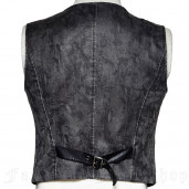 men's Edward Vest by PUNK RAVE brand, code: Y-718/GY