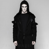 men's Faust Knitted Coat by PUNK RAVE brand, code: Y-745