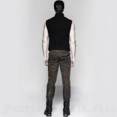 men's Aviator Vest by PUNK RAVE brand, code: Y-758