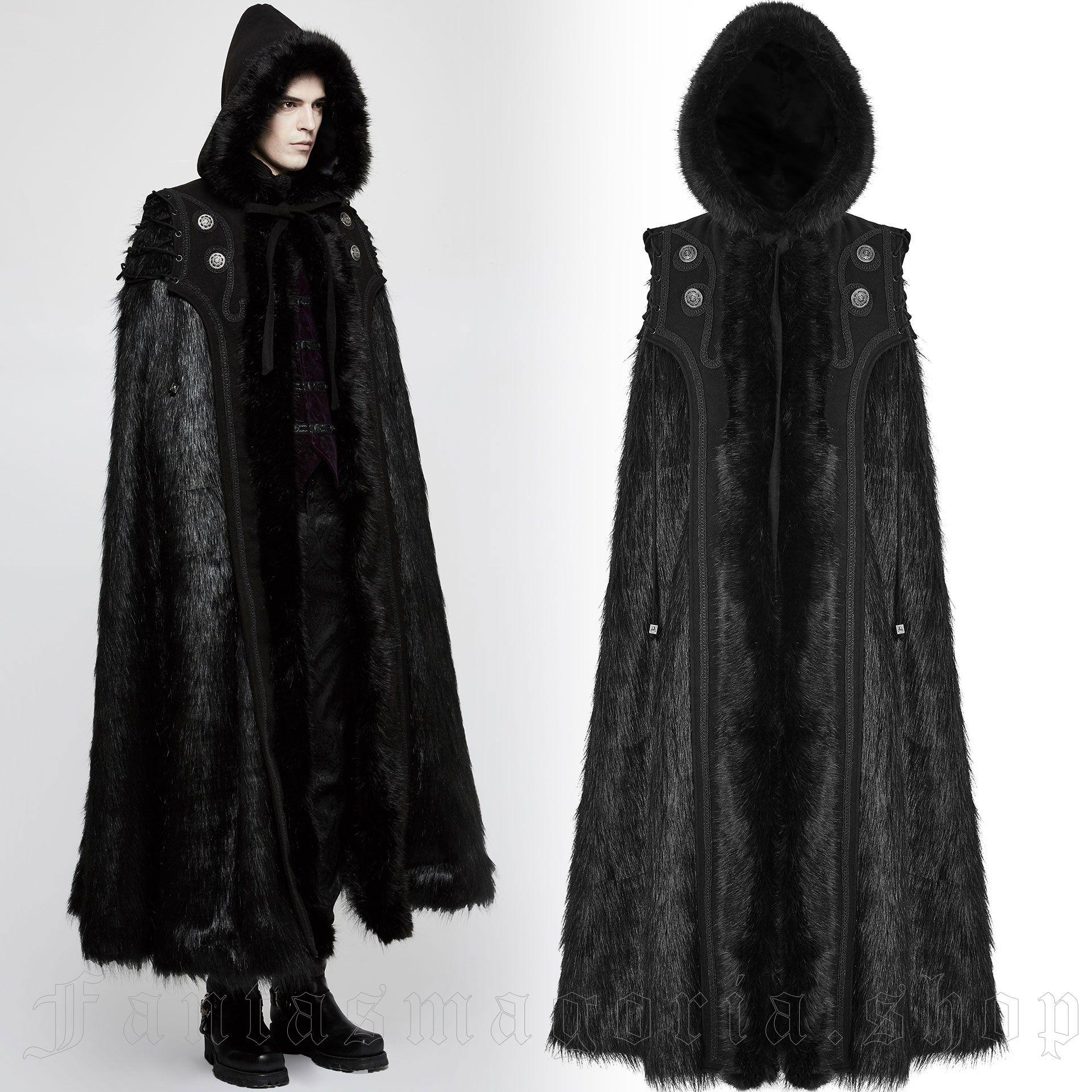 men's Fenrir Wolf Cloak by PUNK RAVE brand, code: Y-803