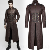 men's Nergal Coat by PUNK RAVE brand, code: Y-809/CO