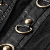 men's Moloch Vest by PUNK RAVE brand, code: Y-810/BK