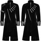 men's I'mperial Guard Coat by PUNK RAVE brand, code: Y-811