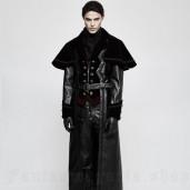 men's Belphegor Coat by PUNK RAVE brand, code: Y-815