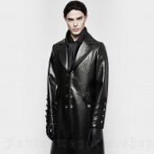 men's Samael Coat by PUNK RAVE brand, code: Y-818