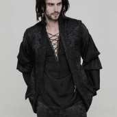 men's Valter Vest by PUNK RAVE brand, code: WY-849