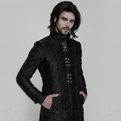 men's Valter Coat by PUNK RAVE brand, code: WY-850