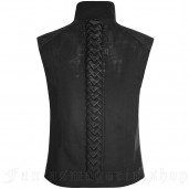 men's Lizard Vest by PUNK RAVE brand, code: WY-863