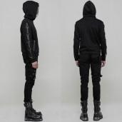 men's Aries Hoodie by PUNK RAVE brand, code: WY-865