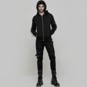 men's Aries Hoodie by PUNK RAVE brand, code: WY-865