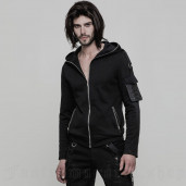 men's Dracarys Hoodie by PUNK RAVE brand, code: OY-869