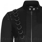 men's Aries Jacket by PUNK RAVE brand, code: WY-870