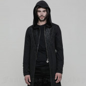 men's Narciss Knitted Coat by PUNK RAVE brand, code: WY-876