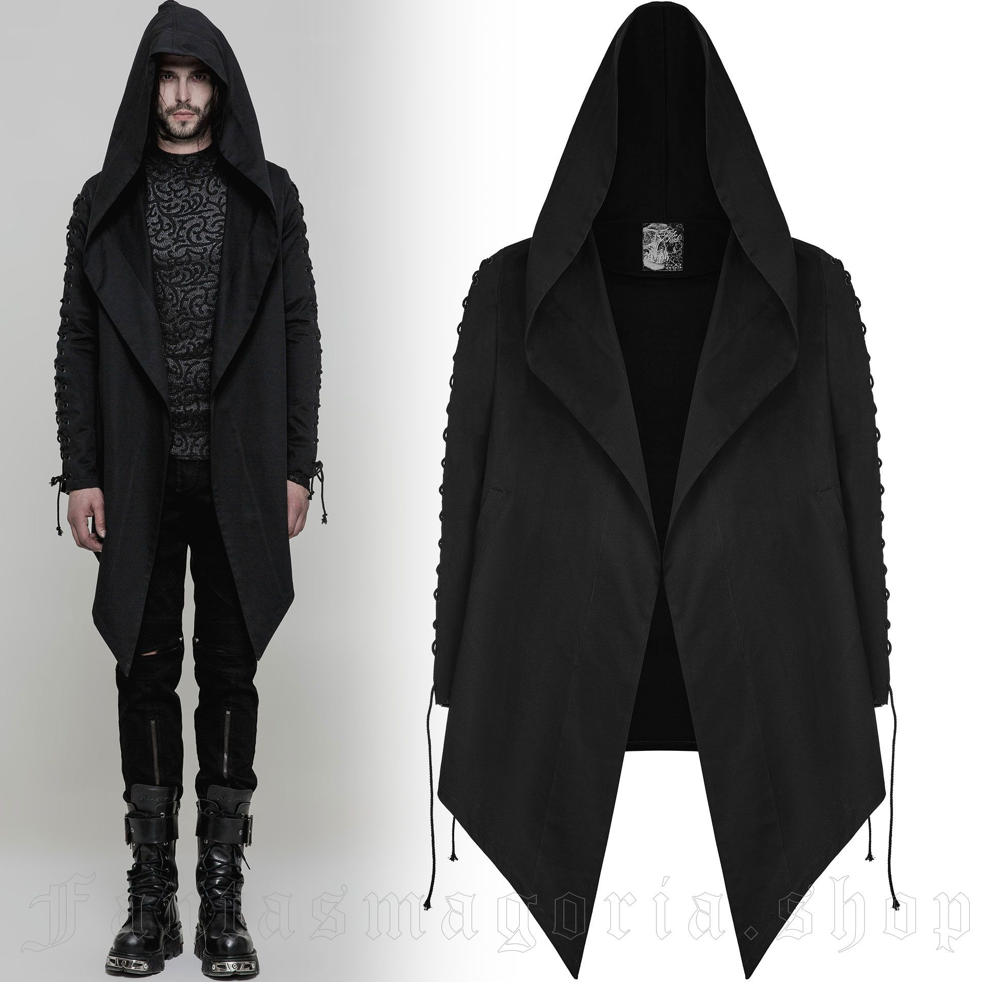 men's Omen Jacket by PUNK RAVE brand, code: OY-879