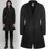 men's Argoth Coat by PUNK RAVE brand, code: OY-881
