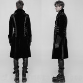 men's Mantus Coat by PUNK RAVE brand, code: WY-909
