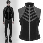 men's Mortal Combat Vest by PUNK RAVE brand, code: WY-910