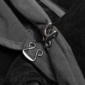 men's Dracula Cloak by PUNK RAVE brand, code: WY-913
