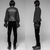 men's Alchemist Vest by PUNK RAVE brand, code: WY-923/BK-SI
