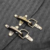 men's Coroner Vest by PUNK RAVE brand, code: WY-929/BK