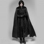 men's Vampyr Coat by PUNK RAVE brand, code: WY-934