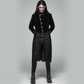 men's Gothic Romeo Frock Coat by PUNK RAVE brand, code: WY-950