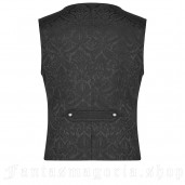 men's Faunus Vest by PUNK RAVE brand, code: WY-989