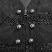 men's Faunus Vest by PUNK RAVE brand, code: WY-989