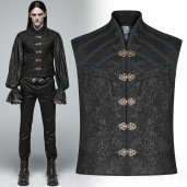 men's Noctis Vest by PUNK RAVE brand, code: WY-996