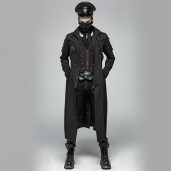 men's Dracarys Coat by PUNK RAVE brand, code: WY-999