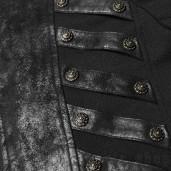 men's Nautilus Coat by PUNK RAVE brand, code: WY-1000/BK