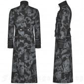 men's Dragon Mist Frock Coat by PUNK RAVE brand, code: WY-1004