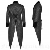 men's Mystic Tailcoat by PUNK RAVE brand, code: WY-1011/BK