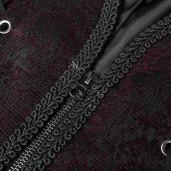 men's Centaur Vest by PUNK RAVE brand, code: WY-1014/BK-RD
