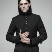 men's Nomeon Coat by PUNK RAVE brand, code: WY-1021