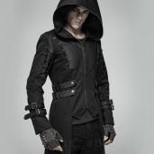 men's Kamikaze Coat by PUNK RAVE brand, code: WY-1026