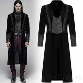 men's Royal Vampire Jacket by PUNK RAVE brand, code: WY-1069/MALE
